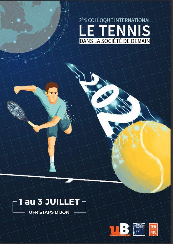 Affiche cooque tennis