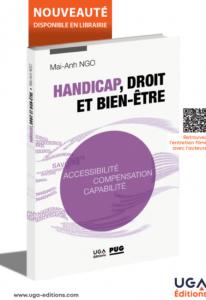Couverture livre Handicap, droit et bien-être