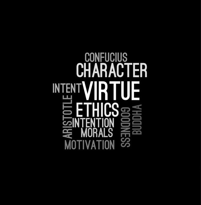 nuage de mots sur l'éthique
