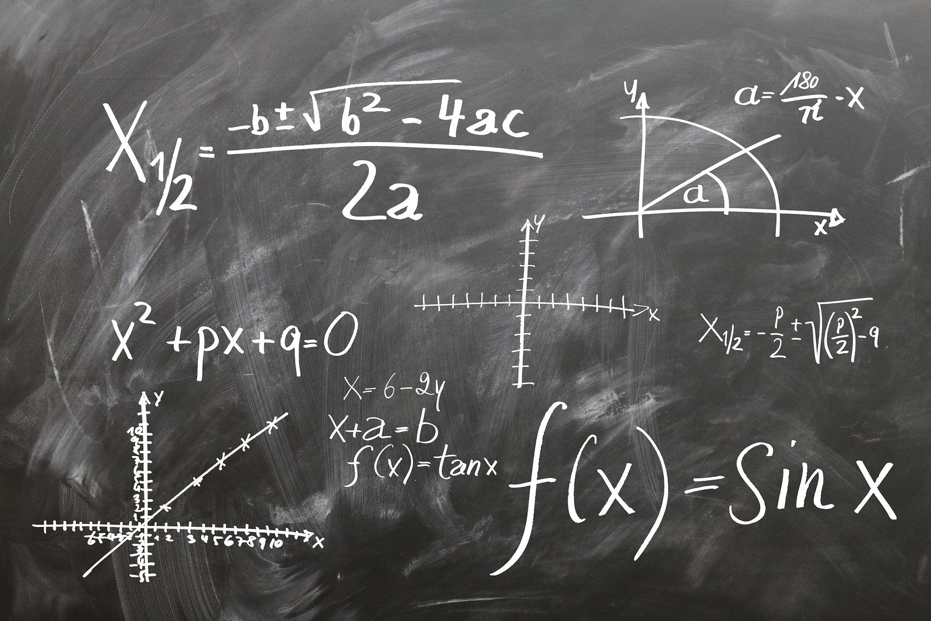 formules de math