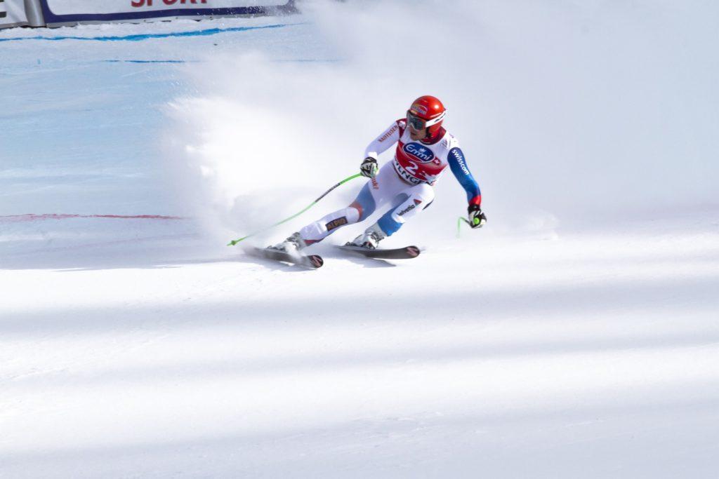 skieur en compétition