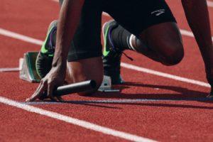 départ de sprint en relais